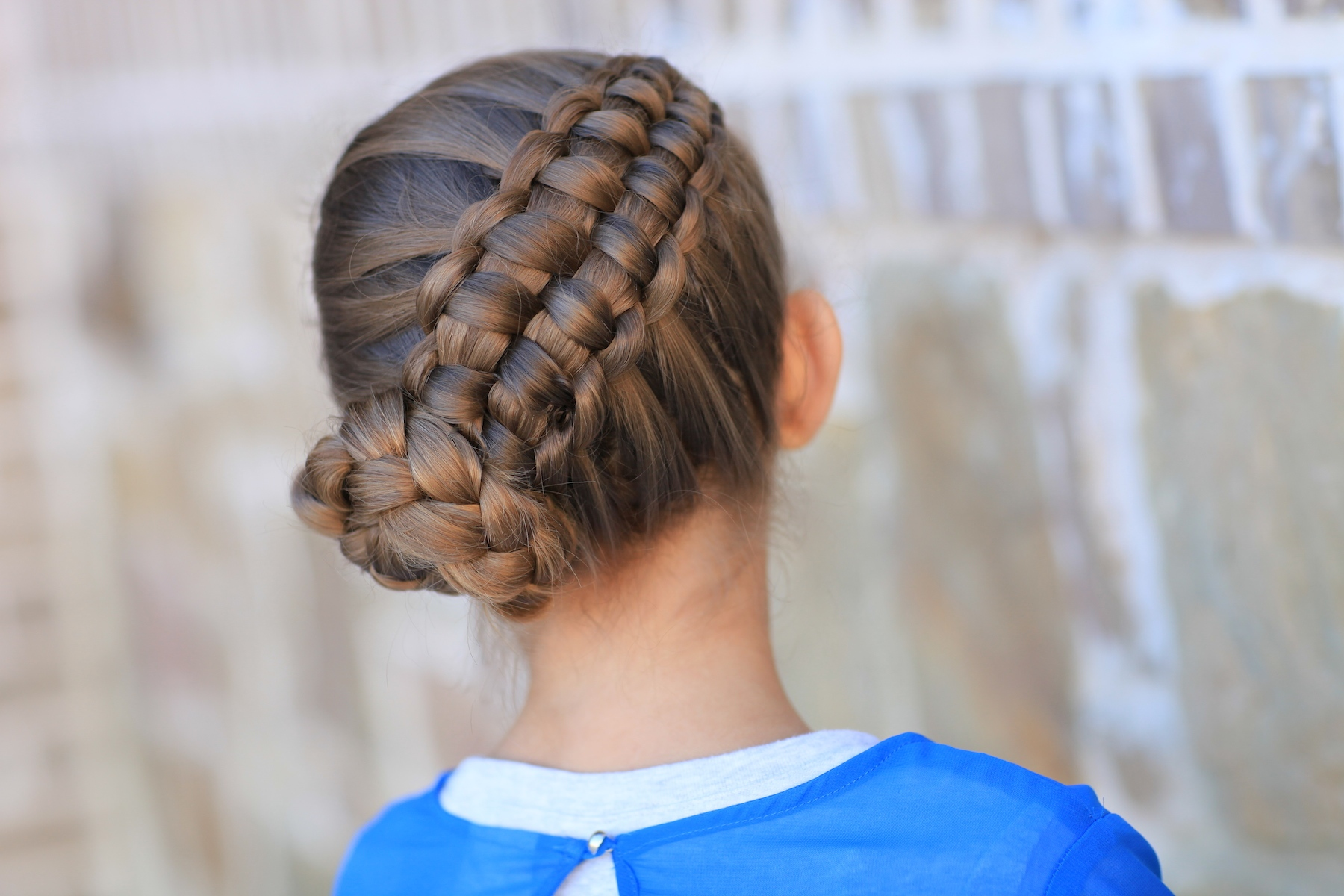 stylish look of hairstyle of eid for girls 2017
