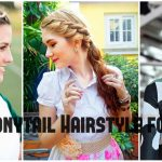 Best Ponytail Hairstyles for Girls 2017 - Short and Mid Length Hairstyle