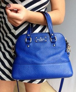 Blue Color Clutch for Girls 2017