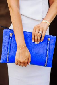 Blue Color of Clutch for Girls 2017