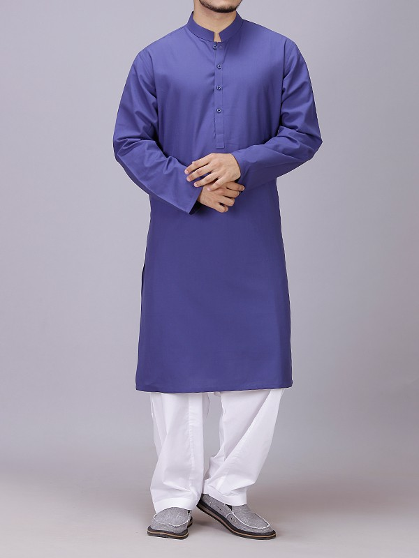Blue Kurta for men 2017
