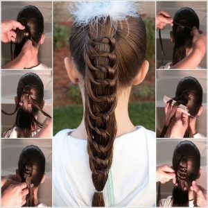 Diy Knotted Ponytail Hairstyle Tutorial 2017