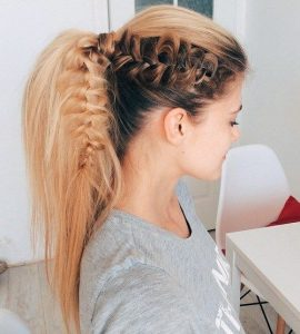 Hairstyle for girls 2017 Ponytail
