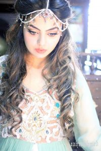 Latest Pakistani Bridal Hairstyle 2017