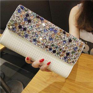 Luxury Diamond 2017 Clutch Bag for Women