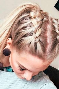 New design of Pony Hairstyle