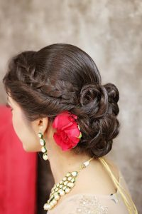 New look of Bridal Hairstyle 2017