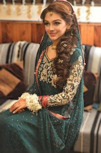 Pakistani Hairstyles for bride 2017