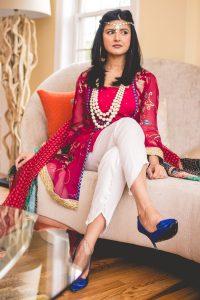 Stylish Tulip Salwar dress for girls 2017