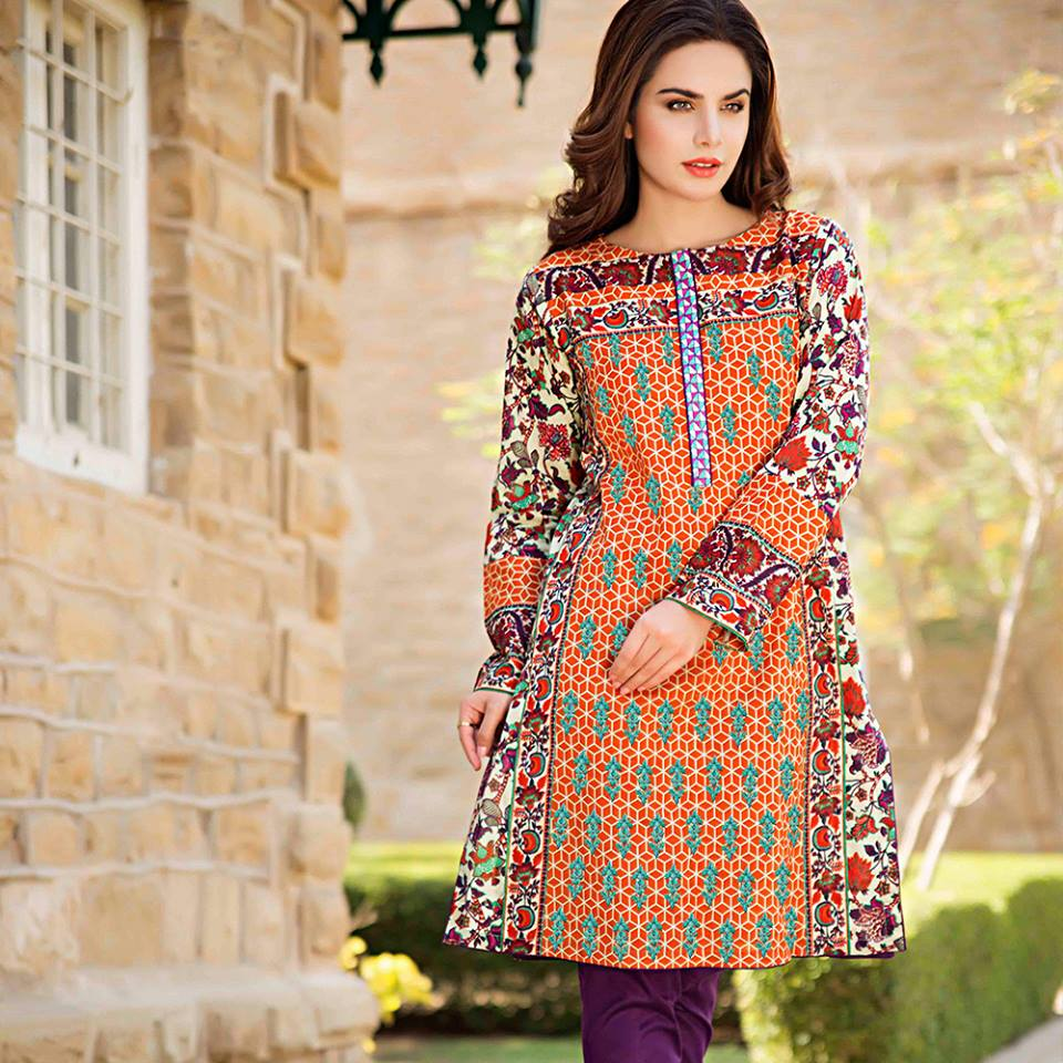 Designer Lawn Dress Designs