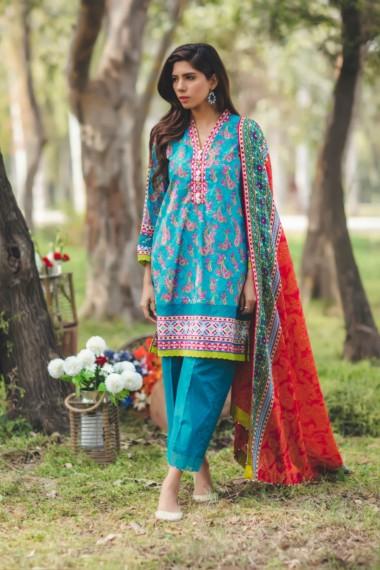 Alkaram new eid dresses collection 2017 for girls