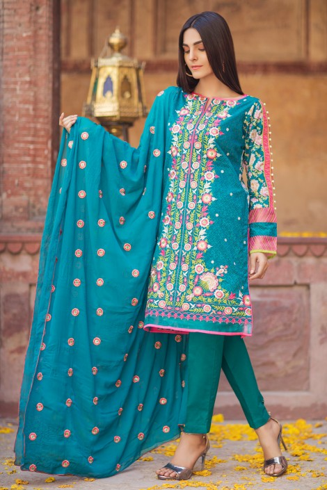 Bonanza Estore new designs of dresses for independence day 2017