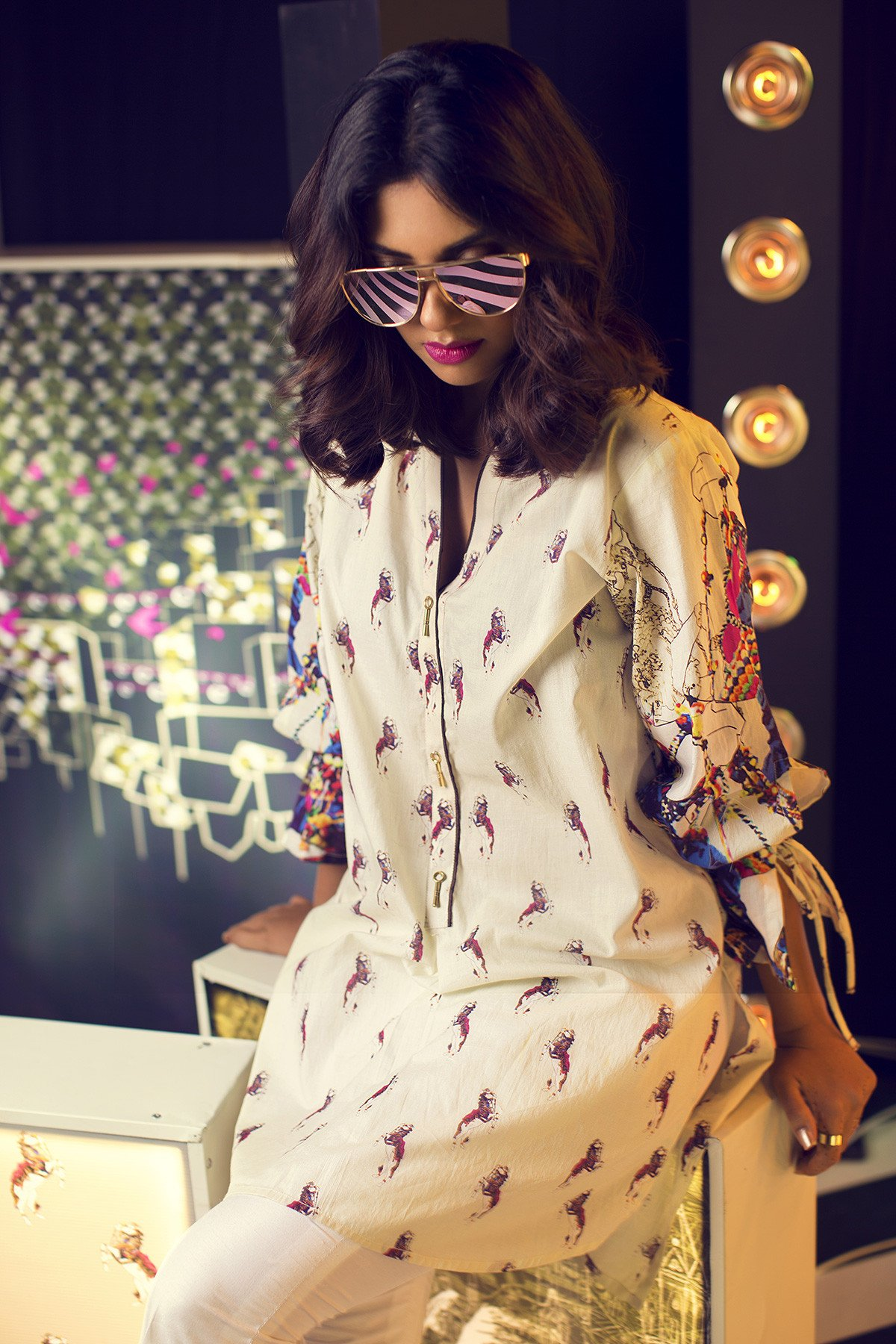 Gul Ahmed Azadi Collection Dresses 2017 for Girls