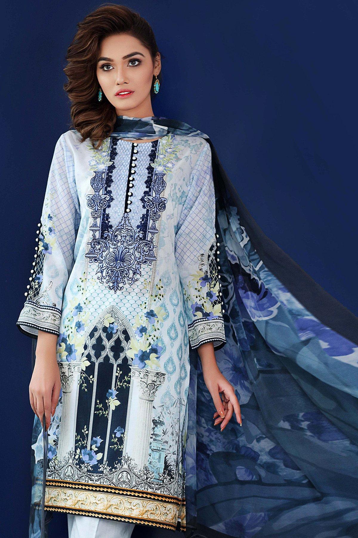 Gul Ahmed eid dresses 2017