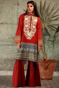 Khaadi Lawn collection 2017 for eid