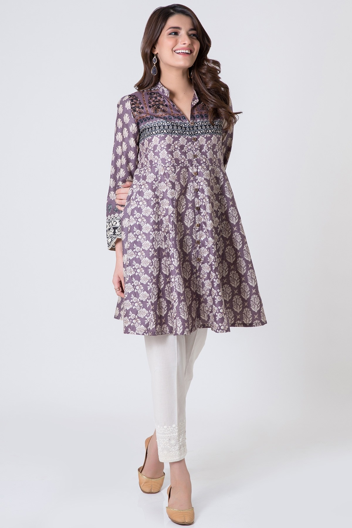 Khaadi eid dresses 2017 for girls collection