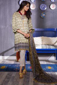 Khaadi new eid dresses designs for ladies 2017