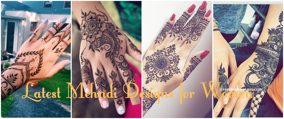 Latest Mehndi Designs 2017 - Top Favorite Mehndi Designs for Girls