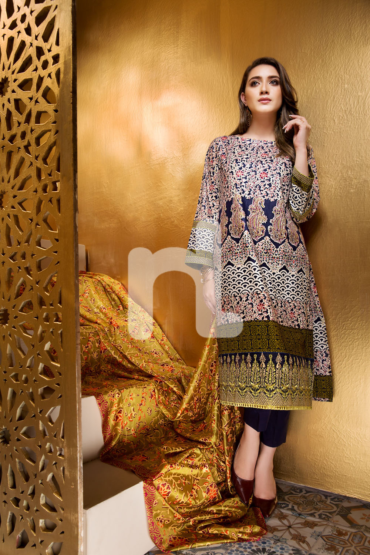 Nishat Linen eid dresses collection 2017
