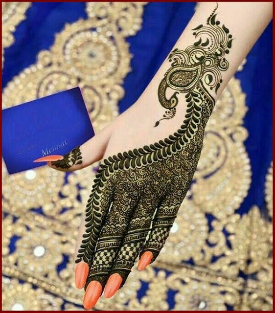 Peacock Mehndi Designs 2017