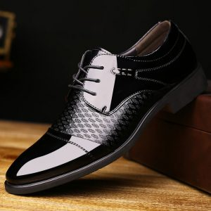 Pure Black Shoes for Groom wedding day collection 2017