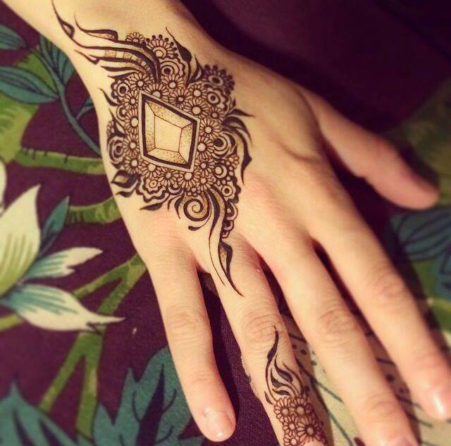 Stylish Latest Indian Mehndi Designs 2017 for girls