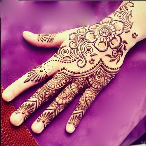 Stylish Latest Indian Mehndi Designs 2017