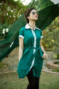 Tops with Jeans azadi dress for girls 2017