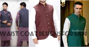 Trending Waist Coat Designs 2017 for Men Men's Wasket Designs