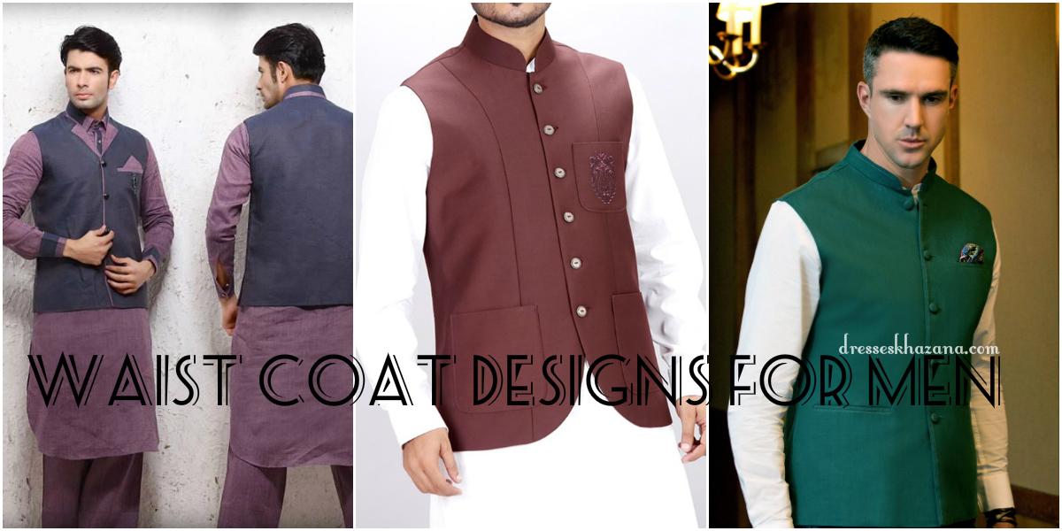 Trending Waist Coat Designs 2017 for Men Men's Wasket Designs
