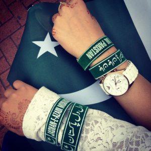 Youm e Azadi Wristbands