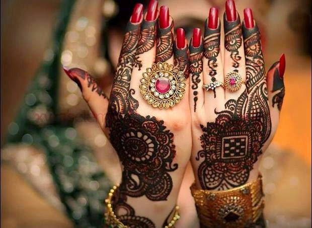 bridal mehndi designs 2017