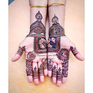 new mehndi designs for girls