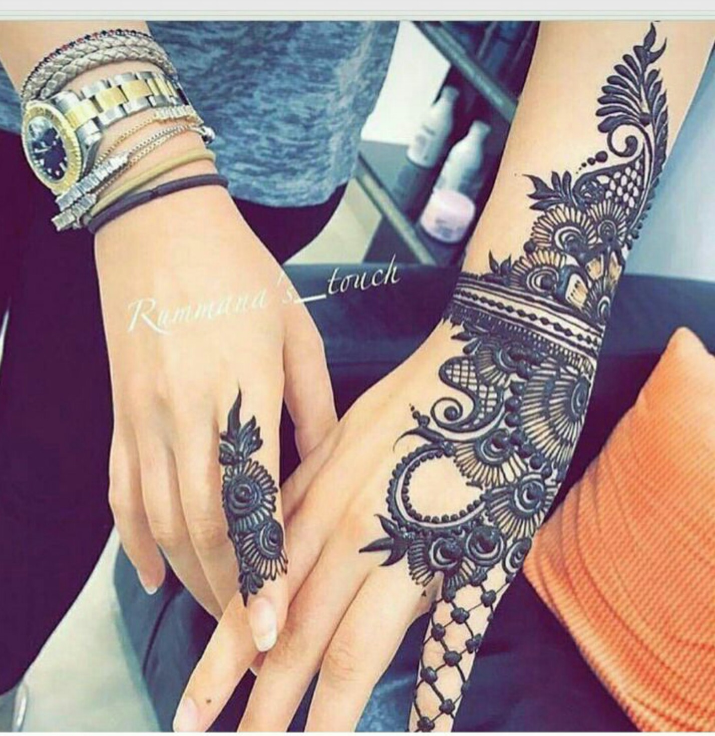 Buy New mehndi stylish designs pictures trends