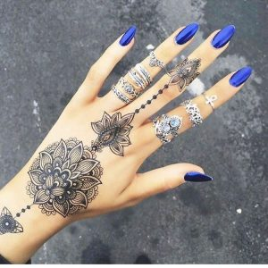 stylish mehndi designs 2017 for girls