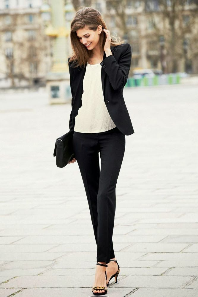 Black Suits & Blazers dresses for women 2017