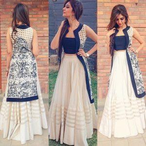 Indo Western Dress Wedding for girls 2017