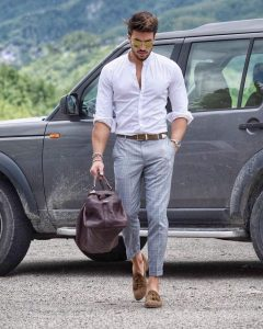 men's casual lofers fashion