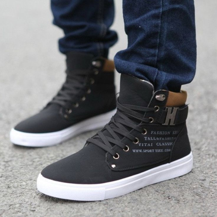 mens high top shoes 2017