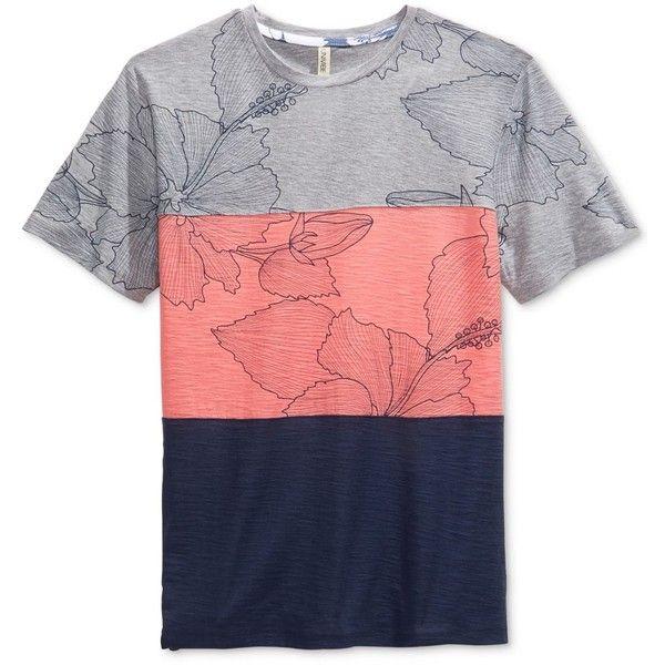 Floral Men's T Shirt