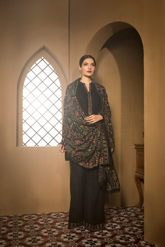 Bareeze Black Collection for Winter 2017
