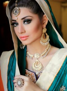 Bridal Makeup with Jewelry 2017
