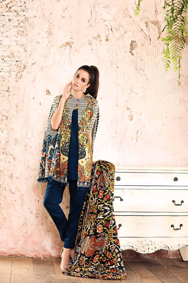 Gul Ahmed Latest Winter Outfits 2017 for Girls