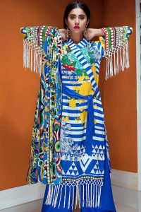 Gul Ahmed Winter Dresses Designs 2017