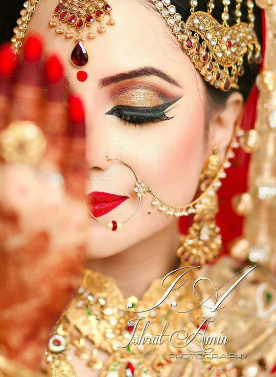 Heavy Bridal Makeup 2017 for Women
