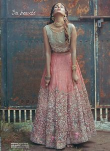 Latest Bridal Gown 2017 for Engagement