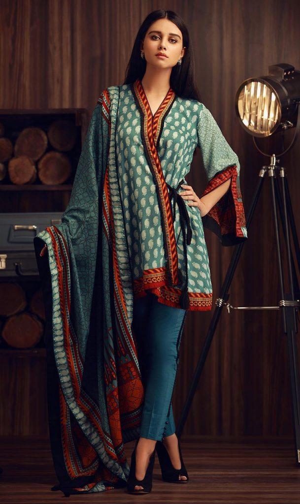 Orient Beautiful Winter Dress 2017 for Girls