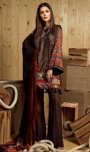 Orient Winter Dresses Designs 2017