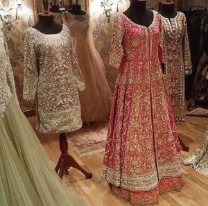 Pakistani Bridal Wear 2017