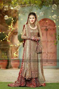 Pakistani Wedding Dress for Engagement 2017